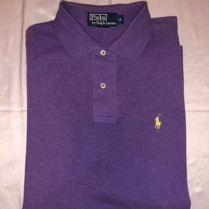 Purple Polo by Ralph Lauren short sleeve polo